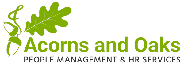 Acorns and Oaks Logo